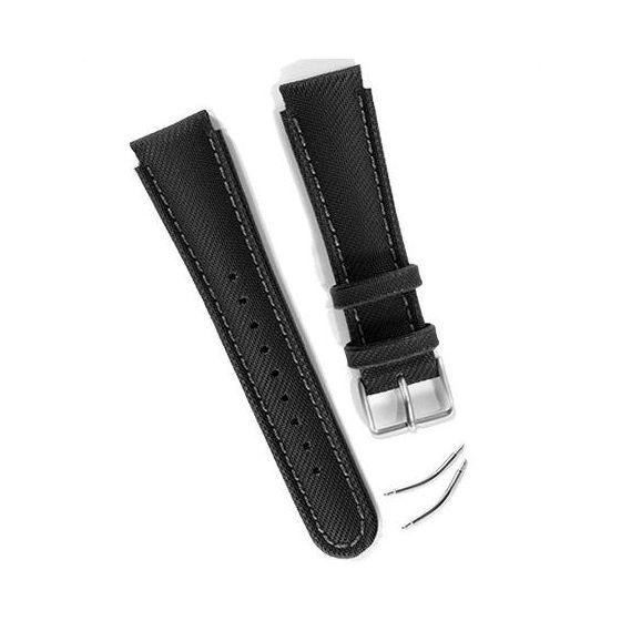 Suunto Yachtsman/X-lander armband, svart komposit