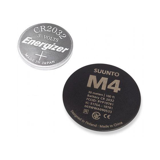 Suunto M4 bytesbatteri, svart