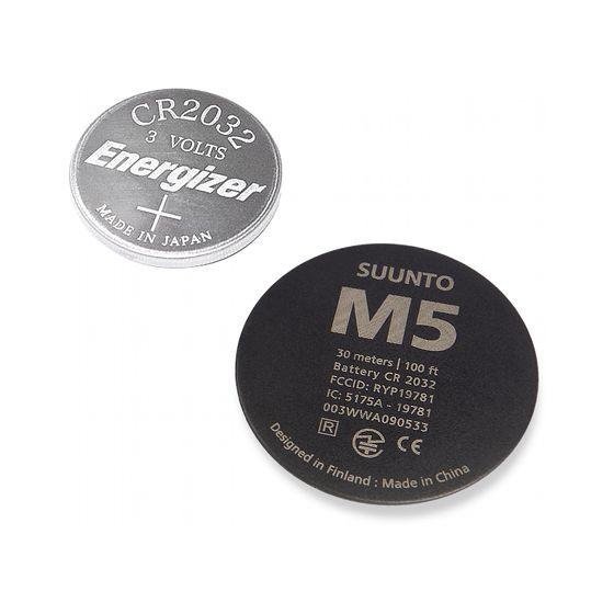 Suunto M5 bytesbatteri, svart