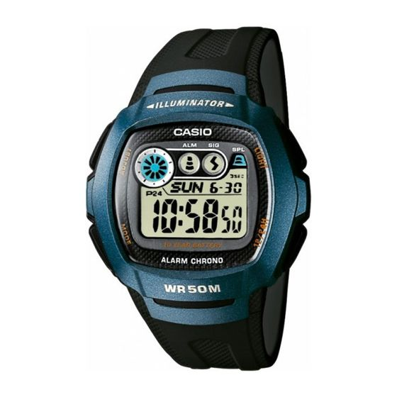 Casio Collection W-210-1B