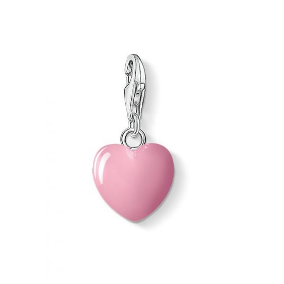 Thomas Sabo Charm Club rosa hjärta 0565-007-9