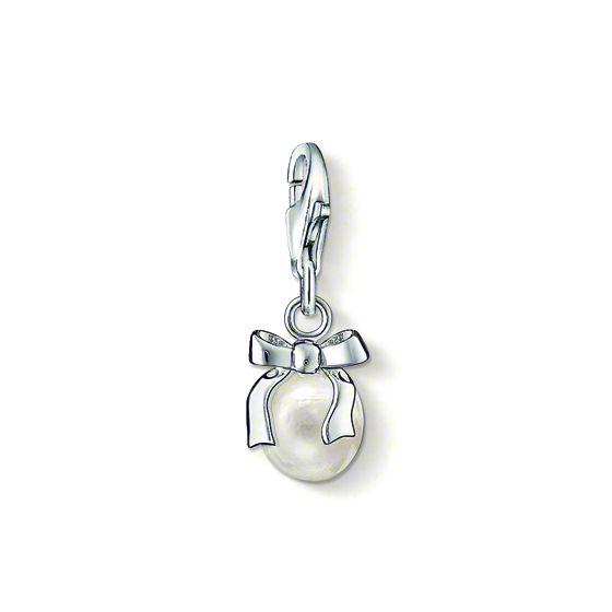 Thomas Sabo Charm pärla med rosett  0802-082-14