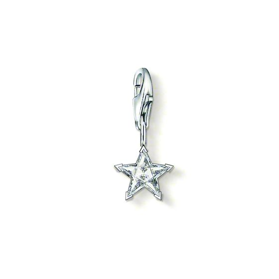 Thomas Sabo Charm zirkon stjärna 0778-051-14