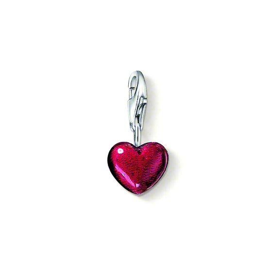 Thomas Sabo Charm röd hjärta 0794-007-10