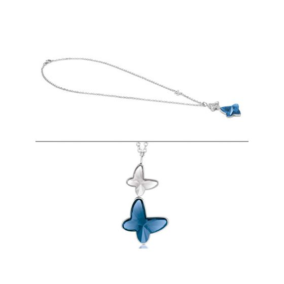 Nomination Butterfly halsband 021371/007