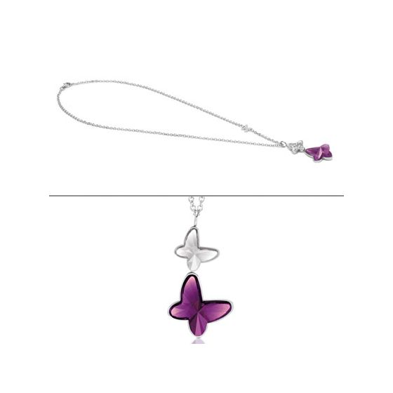 Nomination Butterfly halsband 021371/001