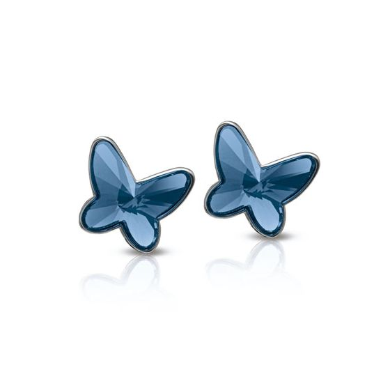 Nomination Butterfly örhänge 021373/007