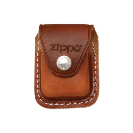 Zippo brunt läder hölje för bältet