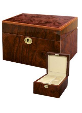 Smyckeskrin trä/vit 078857