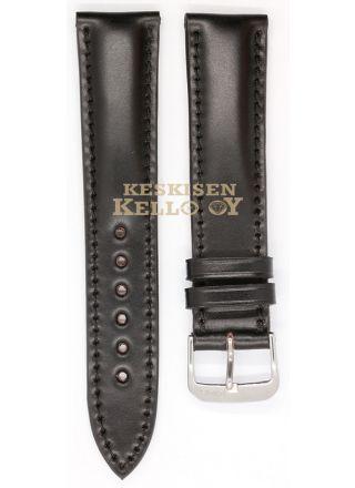 Rios1931 Chicago 1981320/18M svart läderarmband