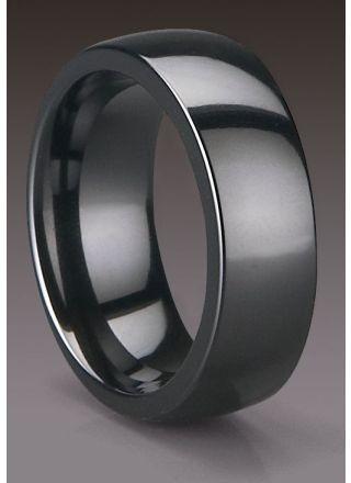 Bosie ring, repfri keramik 6mm CE115