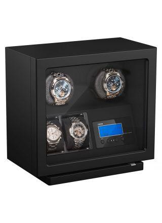 Boxy BLDC Black winder klocklåda för 2 klockor 309420