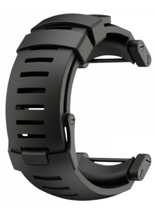 Suunto Core utbytbart armband, svart gummi SS018816000
