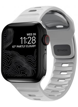 Nomad Sport Strap Lunar Gray armband 42/44 mm för Apple Watch NM01958185