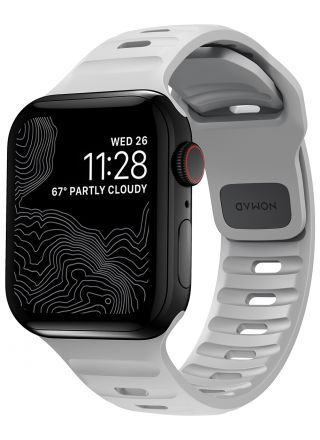 Nomad Sport Strap Lunar Gray armband 38/40 mm för Apple Watch NM01959885