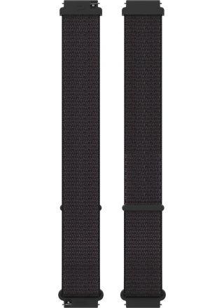 Polar Ignite och Unite nylonarmband 20 mm Black M-L  Hook&Loop 91081807