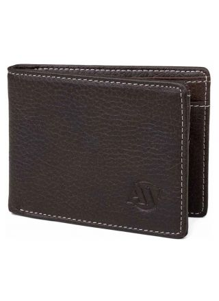 Aarni Älg läder plånbok med myntfack