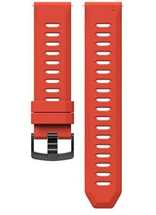 COROS Apex 46 mm silikonarmband Coral Orange WAPX-WB-COR
