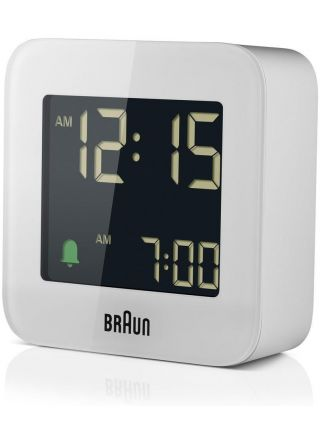 Braun BC08W Väckarklocka