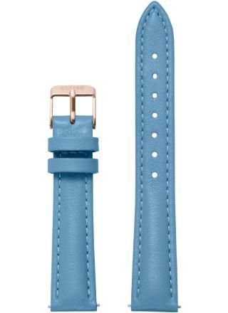 Cluse Minuit CLS366 Retro Blue/Rose Gold armband 16 mm