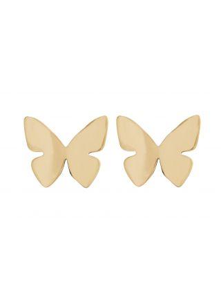 Edblad Papillon örhängen guldfärgad 120231