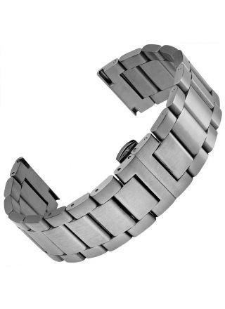Geckota Wetherby Butterfly Stainless Steel klockarmband
