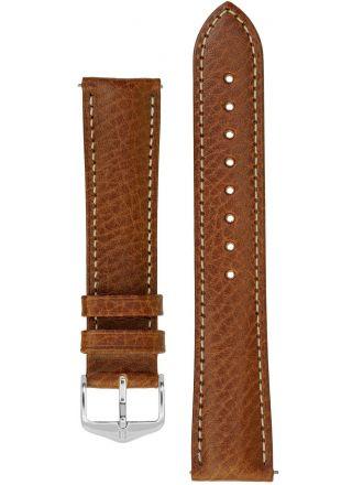 Hirsch Boston ljusbrun klockarmband 013 02 0 70