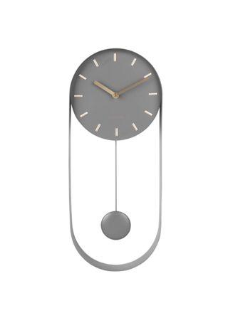 Karlsson Charm Pendulum grå 50 x 20 cm väggklocka KA5822GY