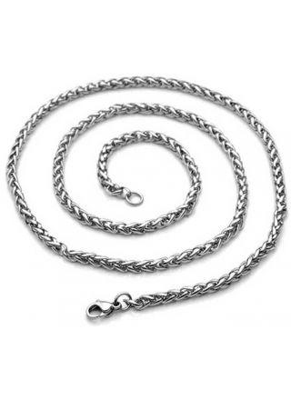 Northern Viking Jewelry Wheat Chain Link NVJKE005 halsband