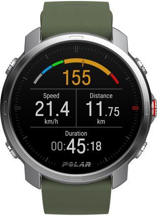 Polar Grit X Green Outdoor Multisport watch