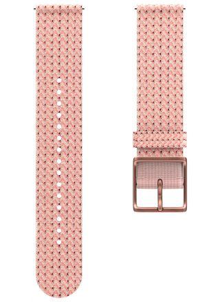 Polar Ignite 2 rosa vävt armband 91085646