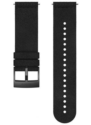 Suunto Spartan Sport, Suunto 7, Suunto 9 Urban 5 Black mikrofiberarmband 24 mm SS050682000