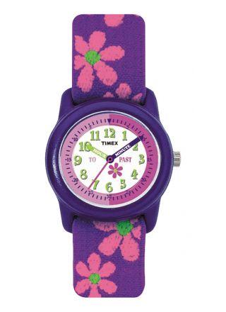 Timex Time Machines Kids Time Teacher - Flowers T89022