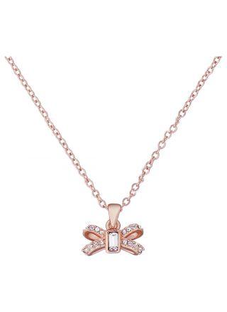Ted Baker Sabena Crystal Sparkle Bow halsband TBJ2524-24-02