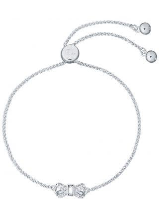 Ted Baker Sabsal Crystal Sparkle Bow Drawstring armband TBJ2526-01-02