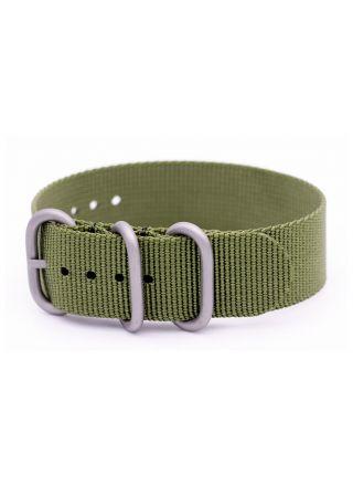 Grön ZULU nato armband